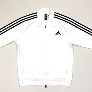 Men's Adidas 3-Stripes Full Zip Bomber Jacket